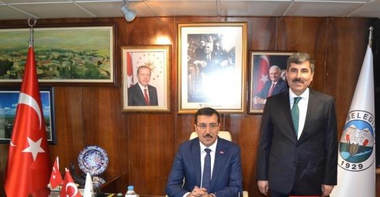 Bakan Tüfenkci'den Muş Belediyesine ziyaret