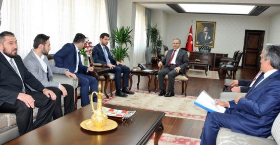 Bakan Yardımcısı Boynukalın,Vali Tapsız'ı ziyaret etti