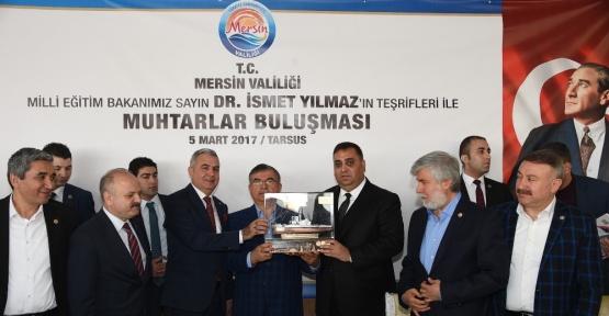 """Bakan Yılmaz: """"16 Nisan'da MHP'li kardeşlerimizle omuz omuza yürümemiz lazım"""""""