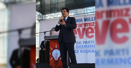 """Bakan Zeybekci: """"16 Nisan CHP için iyiliktir"""""""