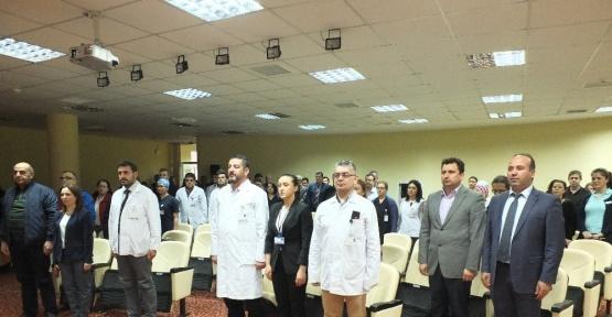 Bandırma Devlet Hastanesi'nde Tıp Bayramı coşkusu