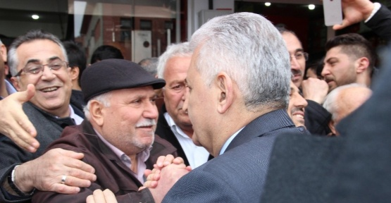 Başbakan Binali Yıldırım Çankırı'da
