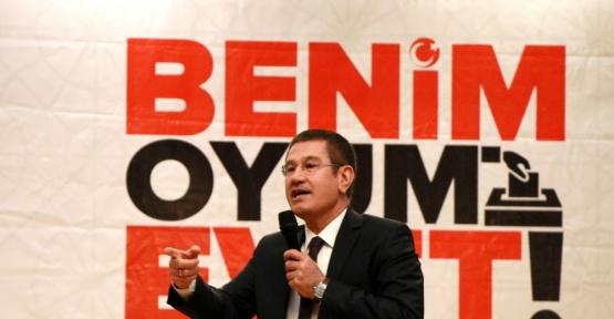 """Başbakan Yardımcısı Nurettin Canikli: """"Milleti kandırıyorlar, yüzleri gülüyor"""""""