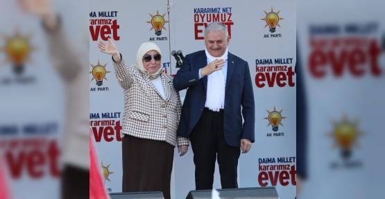 """Başbakan Yıldırım: """"Bu sistem Erdoğan için değil, her doğan için geliyor"""""""