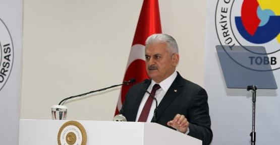 """Başbakan Yıldırım: """"Türkiye son 15 yıldır uydu devlet olmadığı için içeriden ve dışarıdan saldırıyorlar"""""""