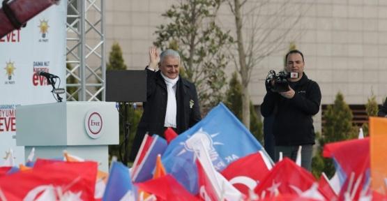 """Başbakan Yıldırım: """"Türkiye'nin standartları yükselirken Avrupa'nın düşmeye başlıyor"""""""