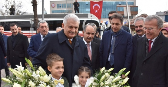 Başbakan Yıldırım'dan MHP'li Karabük Belediye Başkanına ziyaret