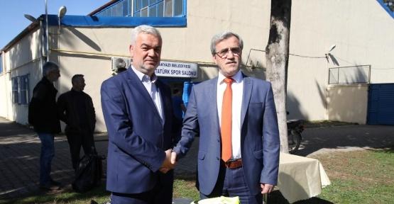 Başkan Akcan'dan spor kulüplerine destek