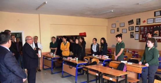Başkan Albayrak Saray'da  incelemelerde bulundu