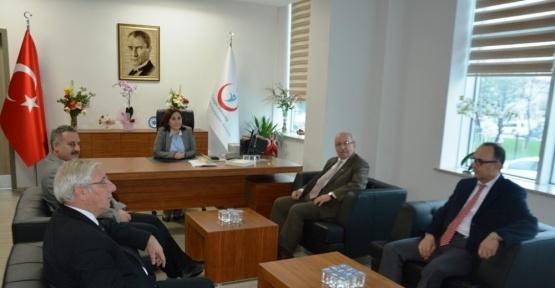 Başkan Albayrak'ın hastane ziyaretleri
