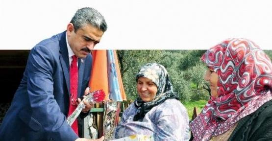 Başkan Alıcık, Dünya Kadınlar Gününü kutladı