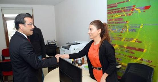 Başkan Atilla, GABB personeliyle bir araya geldi