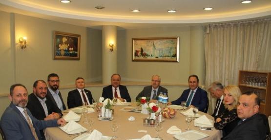 Başkan Babaş, TÜRSAB'ın toplantısına katıldı