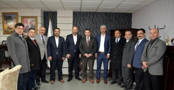 Başkan Bakıcı Büro-Sen temsilcileri ile görüştü