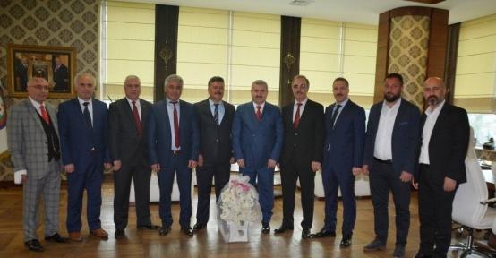 Başkan Baran, Gümüşhanelileri ağırladı