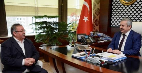 Başkan Baran'a geçmiş olsun ziyareti