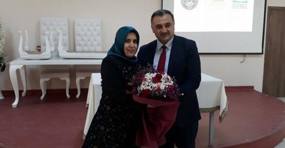 Başkan Cabbar, Dünya Kadınlar Günü'nde Eşinin Doğum Gününü Kutladı