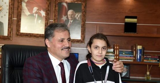 Başkan Çakır'a teşekkür ziyareti