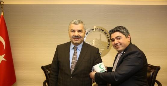 Başkan Çelik'ten Yeşilay'a destek