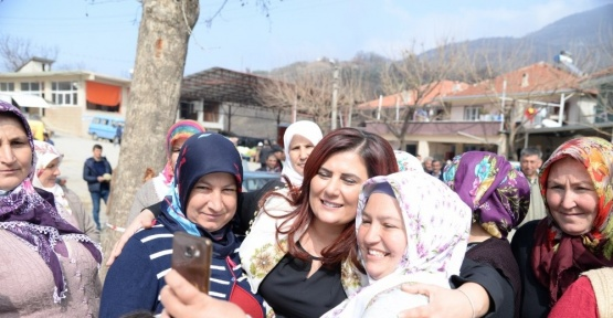Başkan Çerçioğlu, Aşağıyakacık ve Ovacık'ta büyük ilgiyle karşılandı