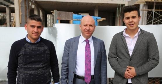 Başkan Çolakbayrakdar, yeni nesil pazar yerinin inşaatını inceledi