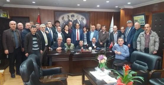Başkan Demirtaş belediye işçilerine yüzde 15 zam yaptı