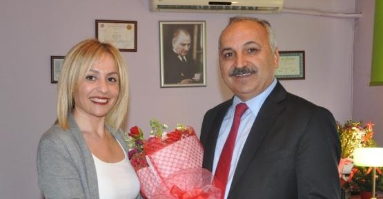 Başkan Dinçer'den kadın esnaf sanatkarlara ziyaret