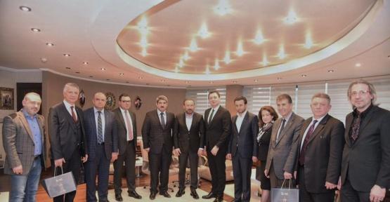 Başkan Doğan, KOTO yönetimini makamında kabul etti