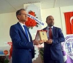 Başkan Erçalık Mersin Şubesinin Genel Kuruluna katıldı
