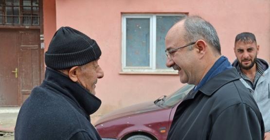 Başkan Gülcüoğlu vatandaşlarla buluşmaya devam ediyor