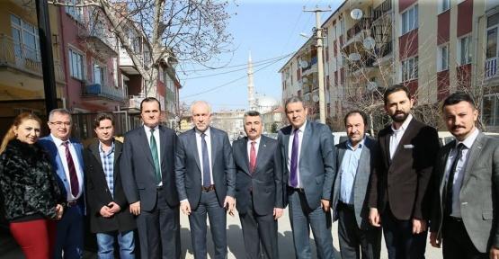 Başkan Kamil Saraçoğlu: Ticaret, emek gerektiren bir iştir