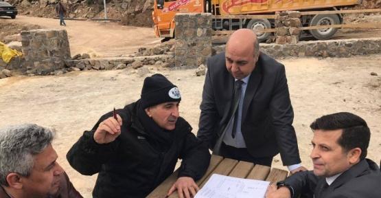 Başkan Kara Recep Tayyip Erdoğan mesire alanında yapılan çalışmaları inceledi