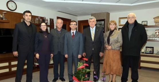 Başkan Karaosmanoğlu, STK yönetimlerini ağırladı