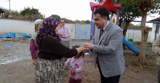 """Başkan Kılınç, """"Kadınlarımız ailenin yapı taşı"""""""