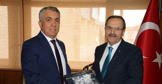 """Başkan Şahin: """"Kızılırmak Üniversitesi için seferberiz"""""""