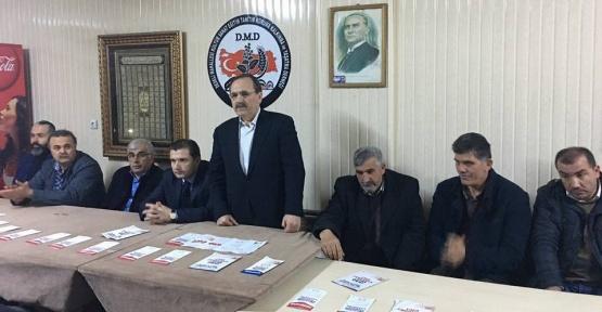"""Başkan Şahin: """"Tek derdimiz Türkiye"""""""