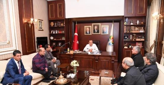 """Başkan Sözlü: """"Diyarbakır, bölgedeki varlığımızın teminatıdır"""""""