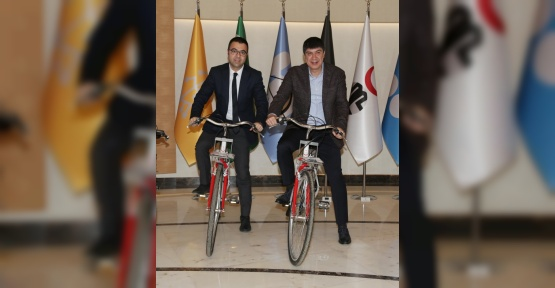 Başkan Türel'den 'Bisiklet Yolu Master Planı' müjdesi