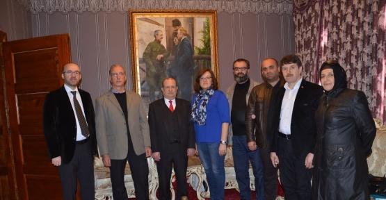 Başkan Yardımcısı Hayrettin Eldemir, muhtarlar ile birlikte müzeyi ziyaret etti