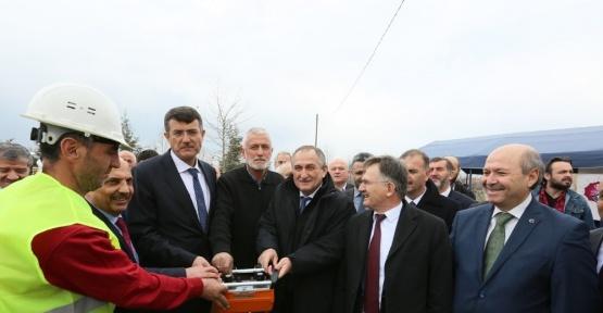 Başkan Yılmaz, 70 kişilik yurdun temel atma törenine katıldı
