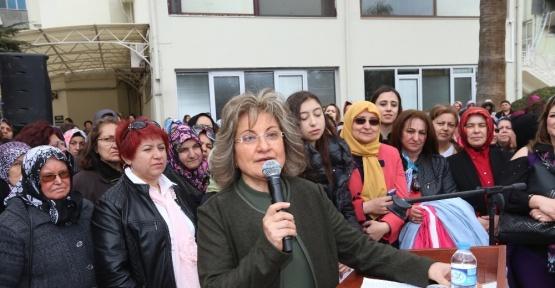 Başkan Zolan 8 Mart dolayısıyla kadınlarla bir araya geldi