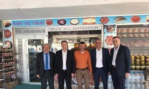 Başkanlar Bayırköy'de incelemelerde bulundu