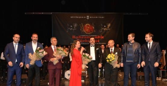 "Başkent'te ""18 Mart'tan 15 Temmuz'a kahramanlık türküleri"" söylendi"