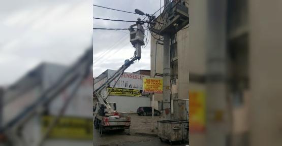 Batman'da sokak lambaları değişmeye başladı
