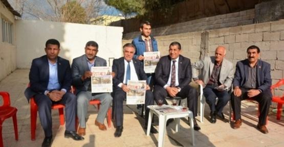 Belediye Başkanı Menderes Atilla'dan Ziraat Odasına ziyaret