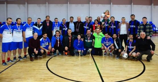 Beylikdüzü Birinci Futsal Turnuvası'nda final yapıldı