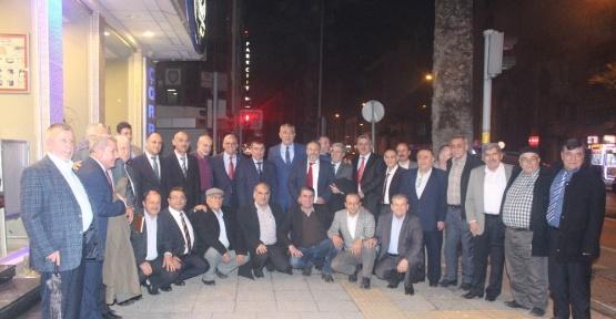 Beyşehir heyeti, İzmir'de gurbetçi dernekler ile buluştu