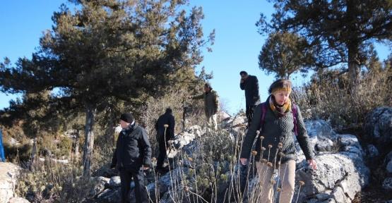 Beyşehir'deki Leylekler Vadisi'nde arazi gezisi