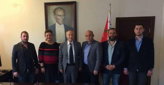 Bilecik Abhaz Derneğinden Bilecik İl Emniyet Müdürü Namal'a ziyaret