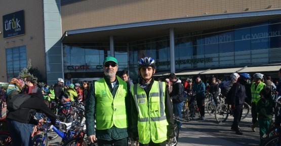 'Bisikletini al gel' etkinliğine yoğun ilgi, Eskişehir haberleri